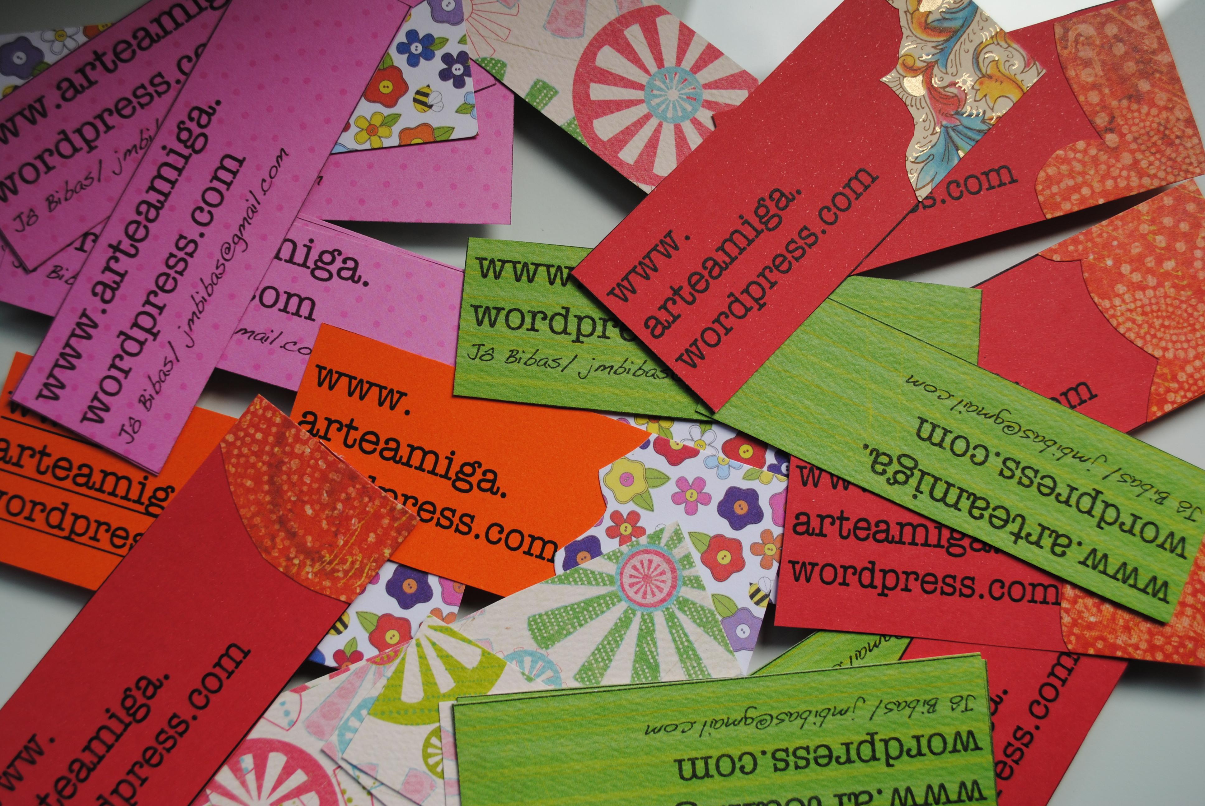 Muitas vezes Cartão de visitas | Arte Amiga GE52