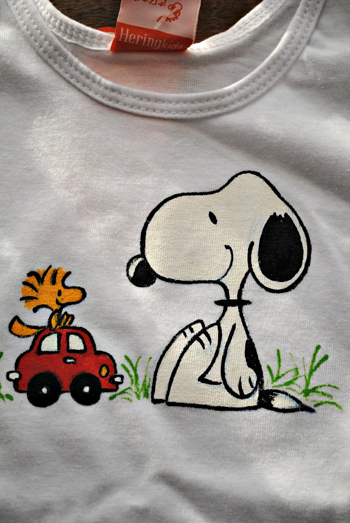 Como seu tema preferido continua sendo Snoopy e carrinhos c1544ebe7bf